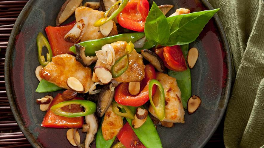 Lemon Chicken with Cashew